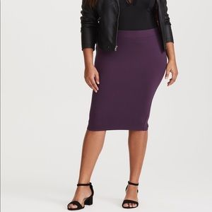 Torrid Spandex Pencil Skirt
